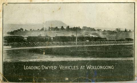 Black and white photograph of Dwyer's Wollongong