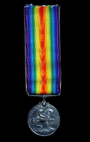 Service Medal of George A Baker