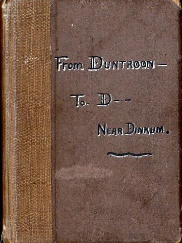Text on album cover says: From Duntroon to D-- Near Dinkum