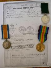 War medals of Robert McKay McIntosh
