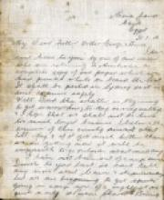 Scan of letter dated 31/1/1914