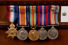 War medals of Walter Ellis Edwards