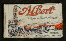 Image depicts the front cover of the postcard booklet.