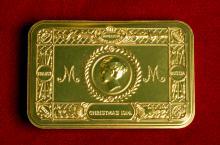 1914 cigarette case to commemorate the Christmas Truce.