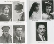 Walter Badan's siblings. Daisy, Jessie, William, Annie, Mary (Ellen), Edward (Bruce)