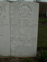 Gravestone for Alexander Frame